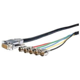Comprehensive Pro AV/IT Series VGA HD15 plug to 5 BNC jacks cable 6ft