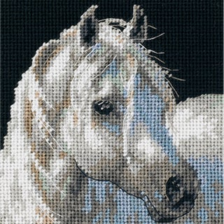 """Gentle Strength Mini Needlepoint Kit-5""""X5"""" Stitched In Thread"""