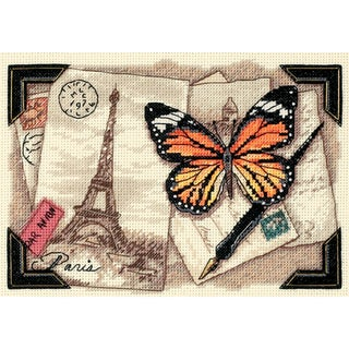 "Gold Collection Petite Travel Memories Counted Cross Stitch-7""X5"""