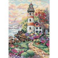 "Gold Collection Petite Beacon At Daybreak Counted Cross Stit-5""X7"""
