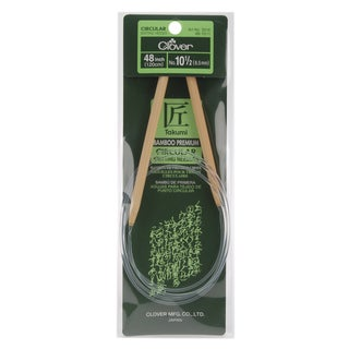 "Bamboo Circular Knitting Needles 48""-Size 10.5"