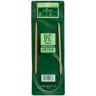 "Bamboo Circular Knitting Needles 36""-Size 3"