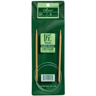 "Bamboo Circular Knitting Needle 29""-Size 5"