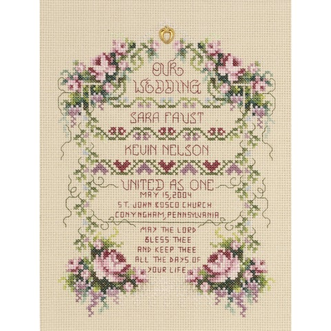 "United As One Counted Cross Stitch Kit-6-1/4""X8-1/2"" 14 Count"