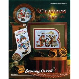 Stoney Creek 'Christmas Joy' Softcover 13-page Craft-pattern Book