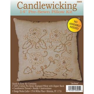"""Jacobean Candlewicking Kit-14""""X14"""""""