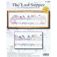 """Last Supper Stamped Embroidery Kit-9""""X24"""""""