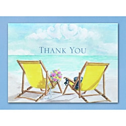 Hortense B. Hewitt Seaside Jewels Thank You Cards