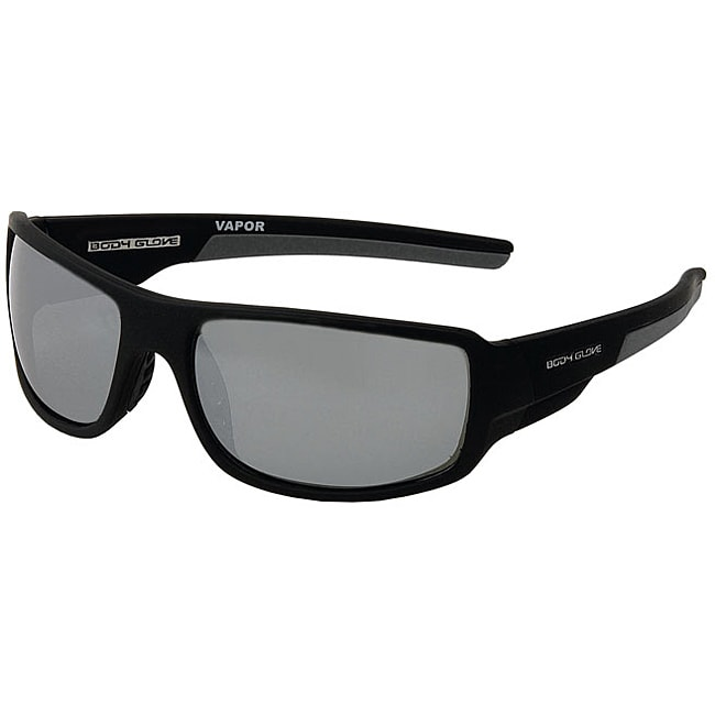 3fc77f04f11 Shop Body Glove  Vapor 11  Polarized Sunglasses - Black Silver - Free  Shipping On Orders Over  45 - Overstock - 6770806