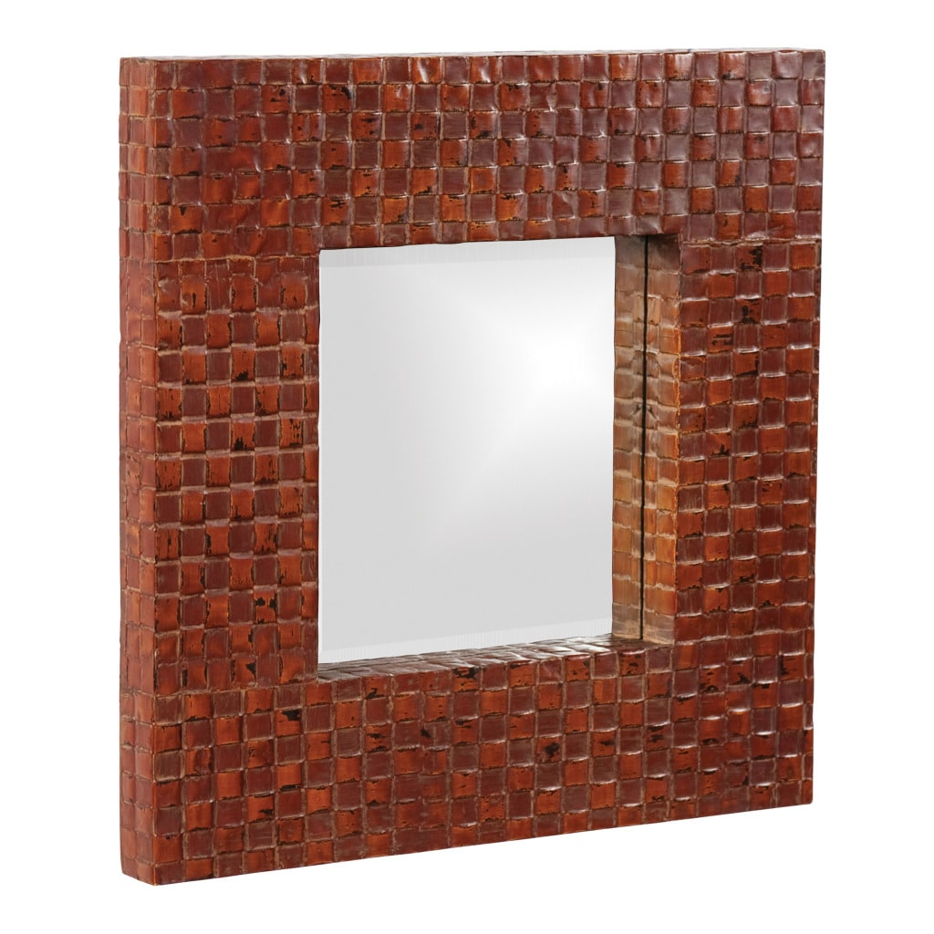 Duncan Latticed Mirror
