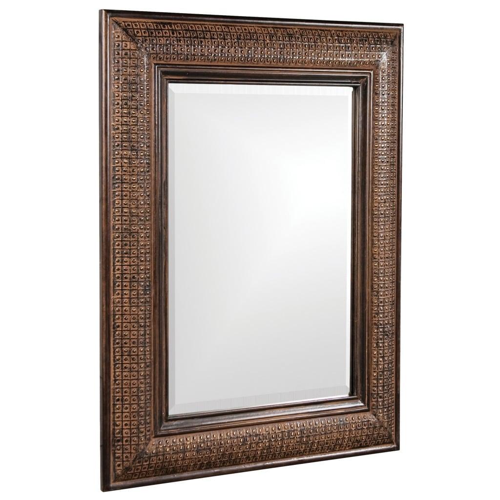 Grant Antique Brown Mirror