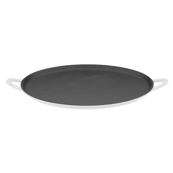 Mario Batali by Dansk Classic White 12-inch Cast Iron Pizza Pan/ Griddle