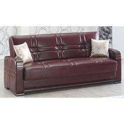Manhattan Burgundy Sofabed