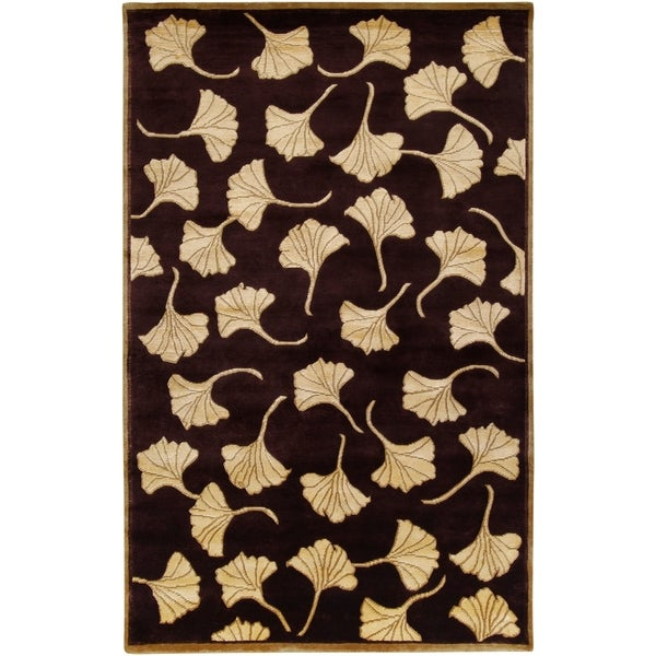 Hand-knotted Multicolored La Crosse Semi-Worsted New Zealand Wool Area Rug - 9' x 13'
