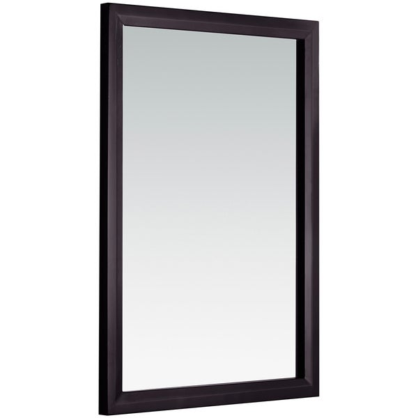 Wyndenhall oxford 22 x 30 espresso brown vanity decor mirror free