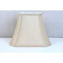Crown Lighting Cream Rectangular Lamp Shade