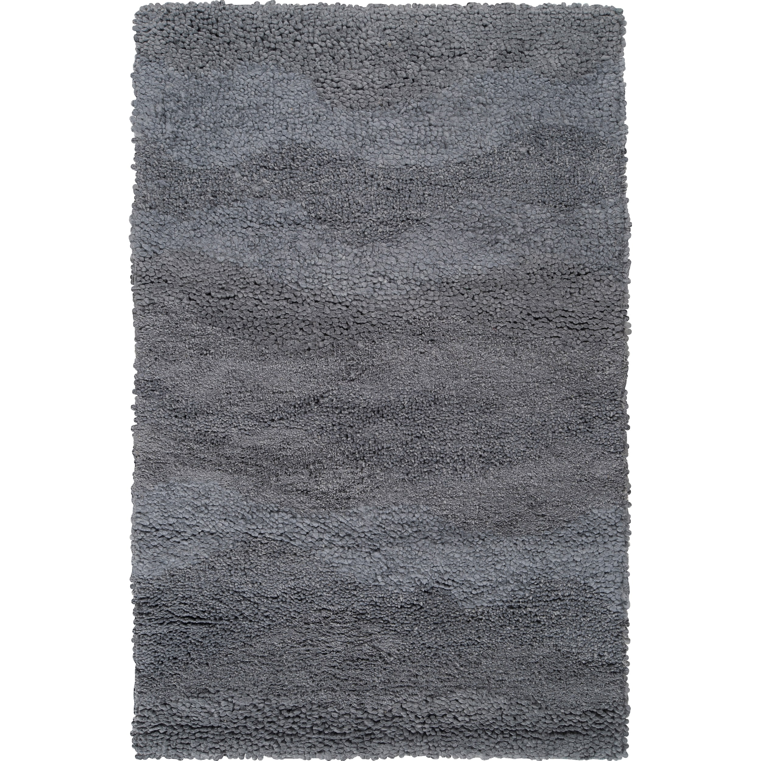 Candice Olson Hand-woven Gray Topary Wool Rug (5' x 8')