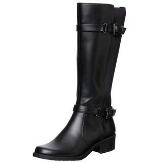 Anne Klein Women's Black 'Lissa' Knee-high Boots