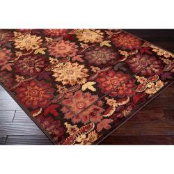 Woven Multicolored Calurnet Viscose Rug (2'2 x 3')