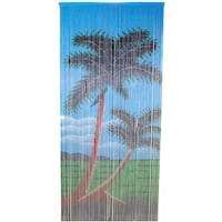 Double Palm Tree Bamboo Curtain (Vietnam) - 36 x 80