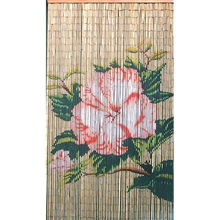 Lotus Flower Bamboo Curtain (Vietnam)