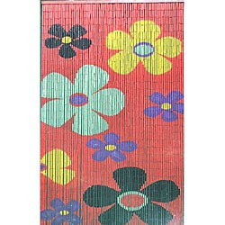 Children's Flowers Bamboo Curtain (Vietnam)