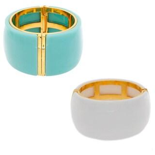 Nexte Jewelry Lucite Hinge Bracelet