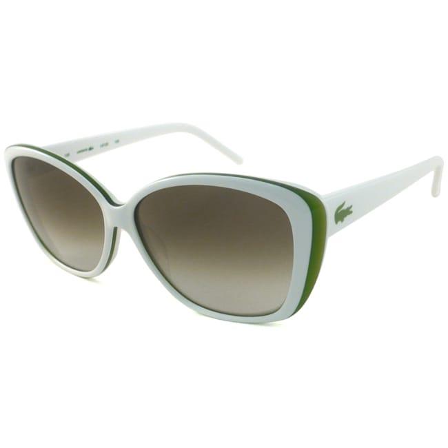 37ad88f731da Shop Lacoste Women s L612S Cat-Eye Sunglasses - Free Shipping Today -  Overstock - 6773457