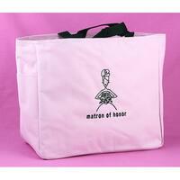 Hortense B. Hewitt Matron of Honor Pink Polyester Gift Tote Bag