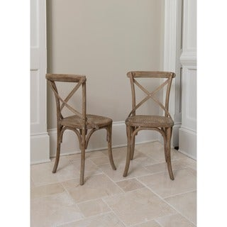 Madison Dining Chair (set Of 2)  Rattan Dining Room Chairs