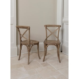 Madison Dining Chair  set of 2 Rattan Dining Room   Kitchen Chairs   Shop The Best Deals for Sep  . Dining Room Rattan Chairs. Home Design Ideas