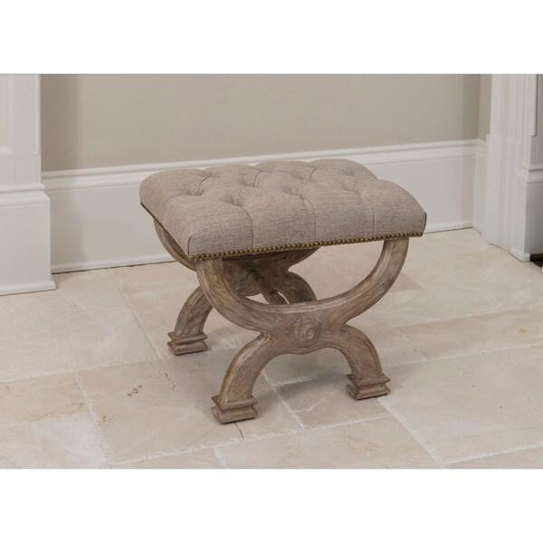 Cleopatra Wooden Bench - 22.25 X 16.125 X 18