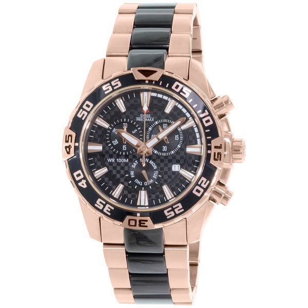 Swiss Men's Formula 7 Pro Rose-gold Watch