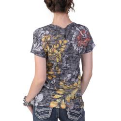 Tressa Designs Women's Round Neck Sublimation Tee - Thumbnail 1