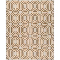 Hand-tufted Gold Hudson Park Area Rug - 8' x 10'