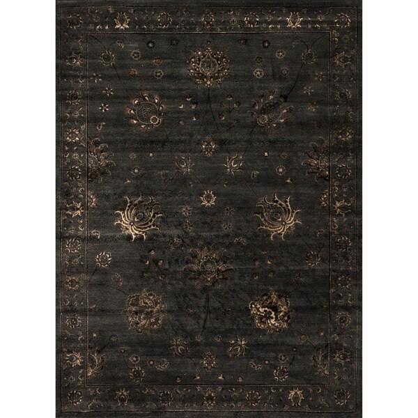 Pembrooke Charcoal Grey Rug (7'7 x 10'5)