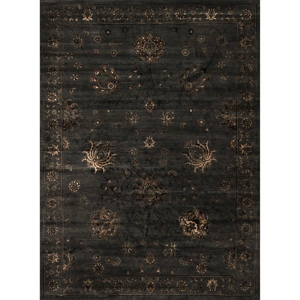 Pembrooke Charcoal Grey Rug (9'8 x 12'8)