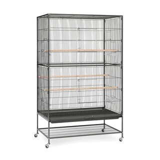 Prevue Pet Products Extra Large Wrought Iron Flight Cage Black Hammertone