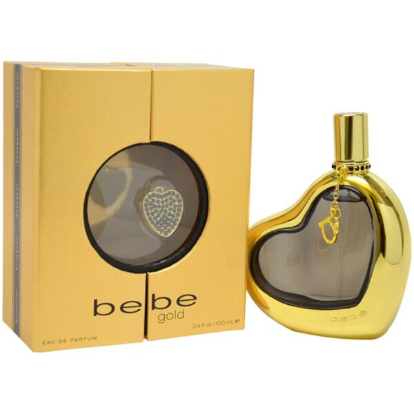 Bebe Gold Women's 3.4-ounce Eau de Parfum Spray