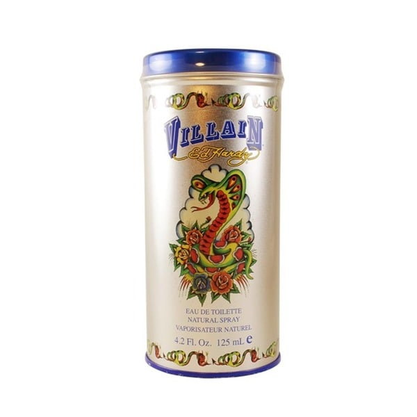 Ed Hardy By For Men Eau De Toilette Spray 3 4 Ounces: Shop Ed Hardy Villain Men's 4.2-ounce Eau De Toilette Spray