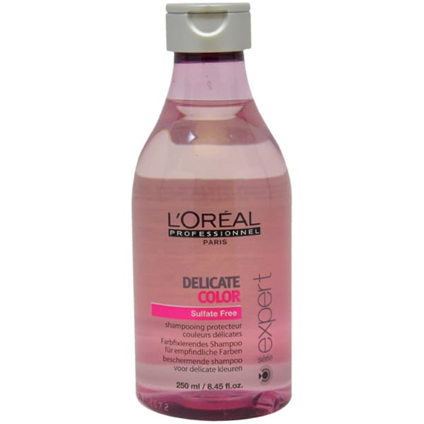 L'Oreal Serie Expert Delicate 8.45-ounce Color Shampoo