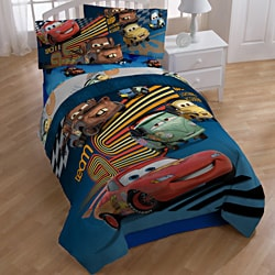 disney pixar cars 39 grand prix 39 7 piece bed in a bag with