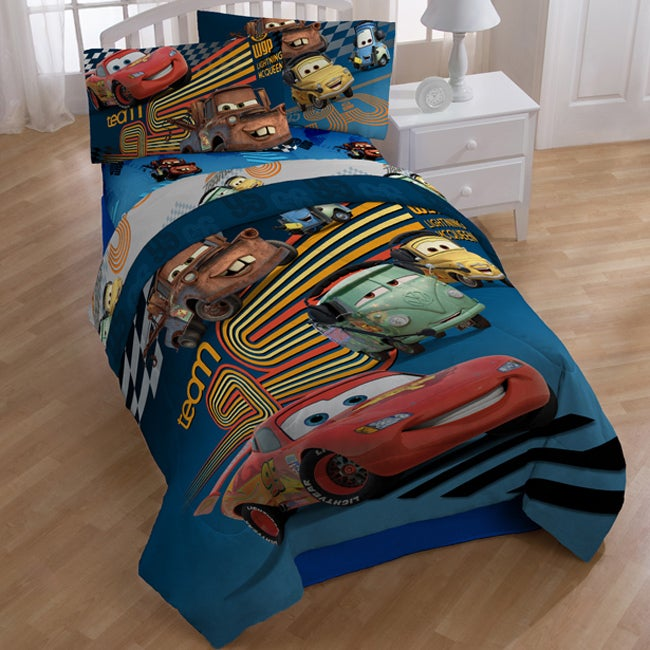 Disney Pixar Cars 'Grand Prix'  7-piece Bed in a Bag with Sheet Set