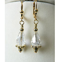 'Caroline' Teardrop Earrings