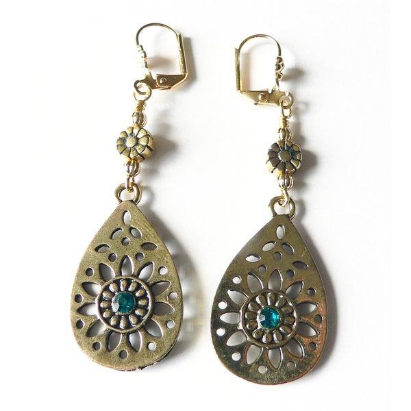 'Charlise' Dangle Earrings
