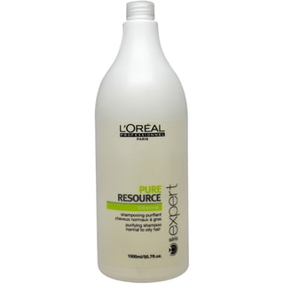 L'Oreal Serie Expert Pure Resource 50.7-ounce Shampoo