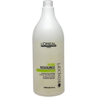 L'Oreal Serie Expert Pure Resource 50.7-ounce Shampoo