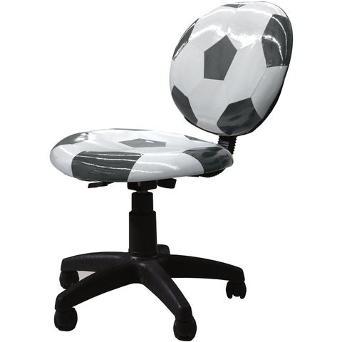 Maya Soccerball Office Chair - Black/White
