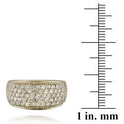 Icz Stonez Sterling Silver Cubic Zirconia Eternity Wedding Ring (1 7/8ct TGW) - Thumbnail 2