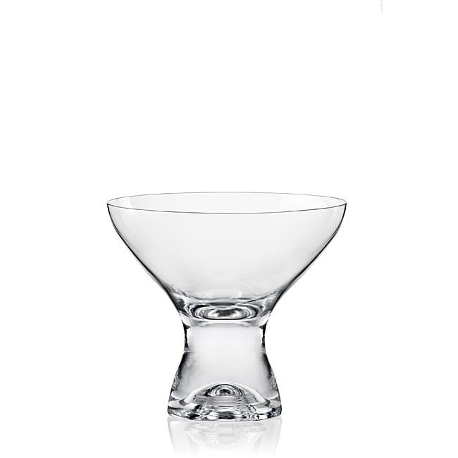 Red Vanilla Samba Martini/ Dessert Glasses (Set of 6)